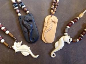 Seahorses Ebony, ligustrum, boxwood